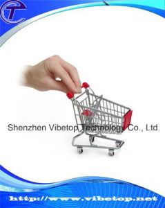 Fancy Metal Pen Holder Mini Shopping Cart SMC-003 pictures & photos