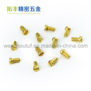 Wenzhou Good Quality Brass Screw Parts pictures & photos