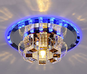 New Modern Crystal LED Hallway Ceiling Light
