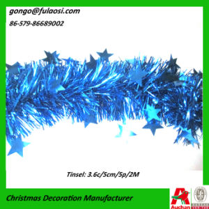 Christmas Foil Tinsel Garland