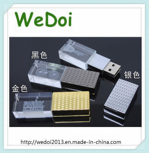 Popular Crystal USB Flash Drive for Promotional Gift (WY-D37) pictures & photos