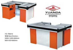 Yuanda Store Supermarket Cashier Desk Checkout Counter pictures & photos
