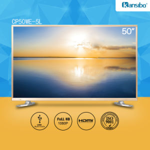 "50"" Cheap Price LED 1080P HDTV with Aluminium Alloy Fram pictures & photos"