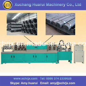High Efficiency Rebar Straightener and Cutter Machine pictures & photos