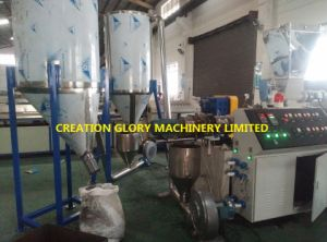 Twin Screw Filler Master Batch Plastic Extruding Granulating Machinery pictures & photos