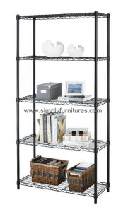 """18"""" Chrome Wire Shelving for Factory with 5 Layers (MBST-06) pictures & photos"""