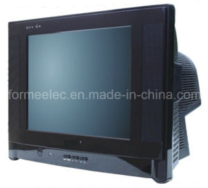 "14"" CRT TV 14SR Normal Flat TV pictures & photos"