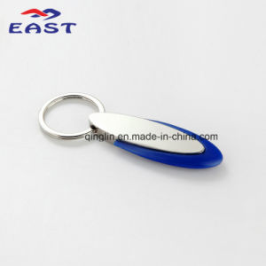 High Quality Plastic Promotional Metal Keyring pictures & photos