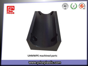 UHMWPE Plastic Machined Part Black Color pictures & photos