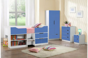 Factory Wholesale Modern Kids Bedroom Set (HF-BL0326) pictures & photos