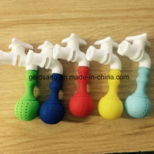 Hot Sell Novelty Tap Shape 100% Food-Grade Silicone Tea Infuser pictures & photos