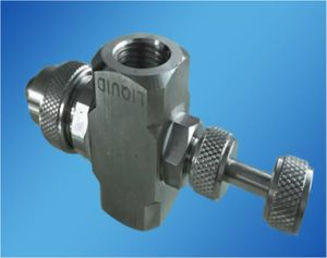 Stainless Steel Air Atomizing Nozzle Gas and Water Two-Fluid Mixing Nozzle pictures & photos