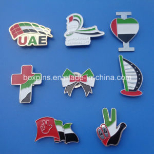 New Design UAE 44th National Day Flag Magnetic Badge
