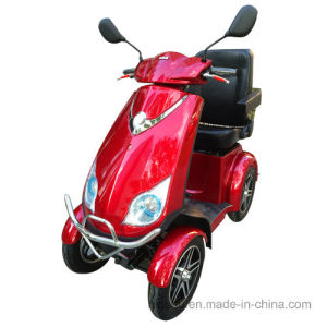 Factory Wholesale 4 Wheel Mobility Scooter with 500W for Elder pictures & photos
