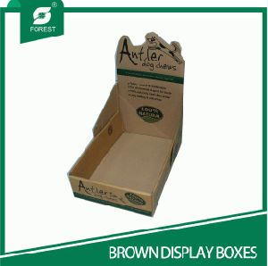 Customized Corrugated Display Boxes pictures & photos