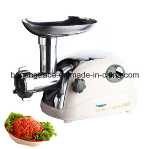 Electric Meat Grinder Mince Machine with Reverse Function Sf260-601 pictures & photos