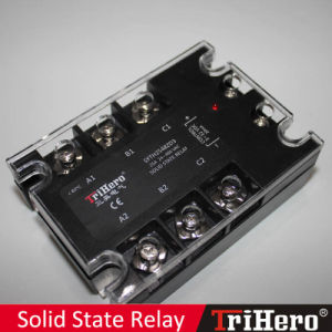25A DC/AC 3 Phase Solid State Relay SSR pictures & photos