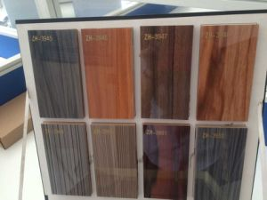 High Glossy Woodgrain UV MDF Panel (ZHUV) pictures & photos