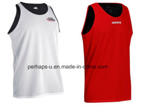 Mens Quick-Drying Reversible Basketball Jersey pictures & photos