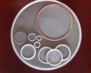 304 Stainless Steel Metal Filter Disc / Filter Screen /Filter Pack pictures & photos