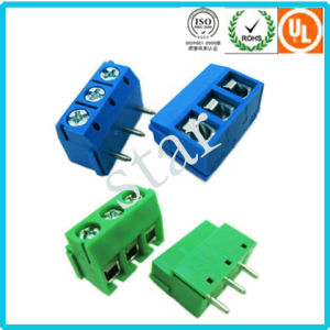 3.81 mm Pitch Screw PCB Terminal Block pictures & photos