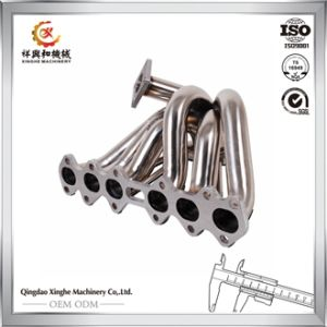 Custom Die Casted Parts Brass Manifold Exhaust Manifold pictures & photos