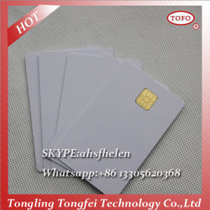 PVC 5528 Chip Card for Canon Inkjet Photo ID Cards pictures & photos