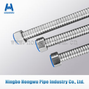 304 316L Stainless Steel Flexible Plumbing Metal Hose pictures & photos