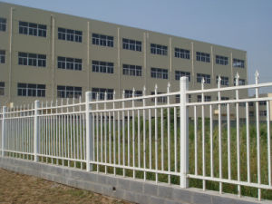 Conch Iron Imitation Type Fence PVC/UPVC Profile pictures & photos