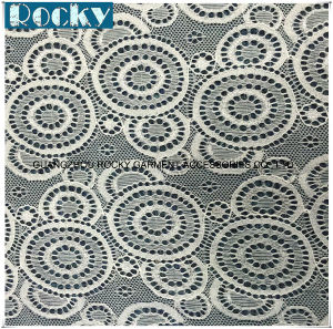Women Garment Accessories Spandex Lace Geometry Lace Fabric pictures & photos