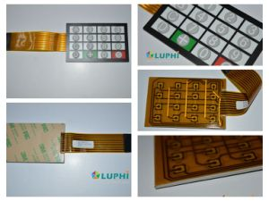 Silicone Rubber Buttons Metal Domes Electric Membrane Keypad Switch (MIC-0088) pictures & photos