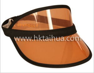 Promotion Colour Customized Plastic Sun Hat with Thp-001 pictures & photos