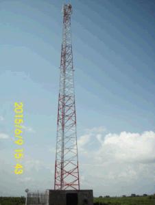 55m 3 Legged Self-Supported Lattice Tower for Atc Uganda
