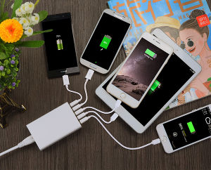 Hot Sale 5 Port USB Charging Station for iPhone pictures & photos