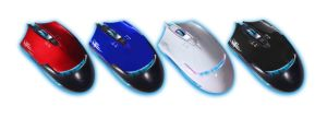 2400dpi 4D Gaming Mouse with 7 Color Inner Lighted pictures & photos