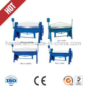 Manual Folding Machine for Thin Thickness Metal Sheet pictures & photos