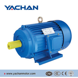 CE Approved Y Series Cast Iron Body Three Phase Electric Motor pictures & photos