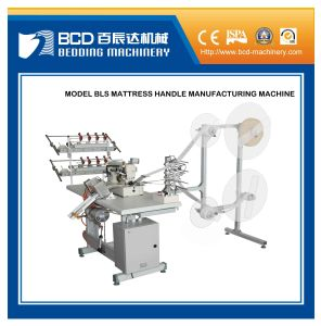Mattress Handle Strap Embroidering/Tacking Machine Mattress Handle Machine (BLS) pictures & photos