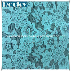 Discount Flower Pattern Lace Stretch Lace Fabric pictures & photos