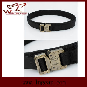 Nylon 1.5 Inch Molle Waist Belt Military Belt Buckle for Wargame Belt pictures & photos