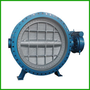 Triple Offset Flange Butterfly Valve-Metal Seated Flanged Butterfly Valve pictures & photos