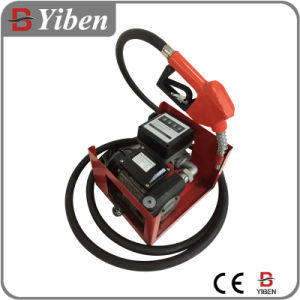 AC Electric Transfer Pump Unit with Flow Meter and Nozzle (ZYB80-11A) pictures & photos