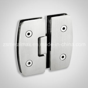 Brass 180 Degree Glass Clamp Shower Door Hinge (YH905) pictures & photos