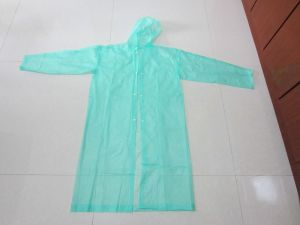 Promotional PVC Raincoat pictures & photos
