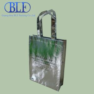 Customized Silver Laminated Personalized Bags (BLF-NW151) pictures & photos