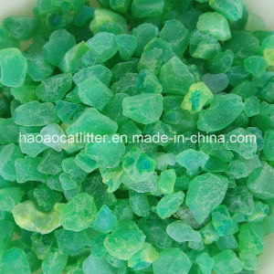 Green Color Crystal Cat Litter Sand - Odor Control pictures & photos