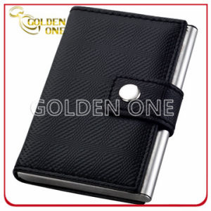 Promotion Creative Design PU Leather Credit Card Case pictures & photos