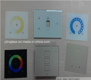 High Quality Tempered Glass Panels for Wall Light Switches and Sockets pictures & photos