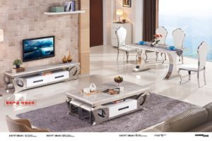 Living Furniture Top Marble Coffee Table (A3075) pictures & photos