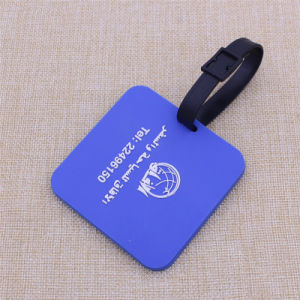 Factory Sale 3D Soft PVC Luggage Tag Dog Tag with Customized Logo pictures & photos